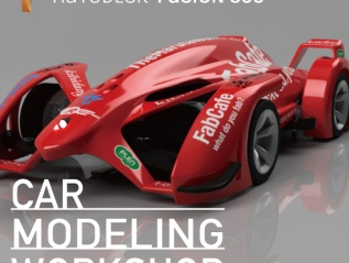 3/1 Fusion360 Workshop –カーモデリングクラス